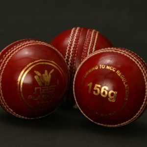 NAS Cricket Ball - 156g Red 100271