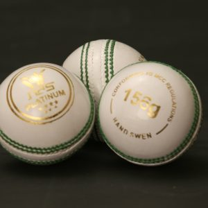 NAS Cricket Ball - Platinum 156g White 100272