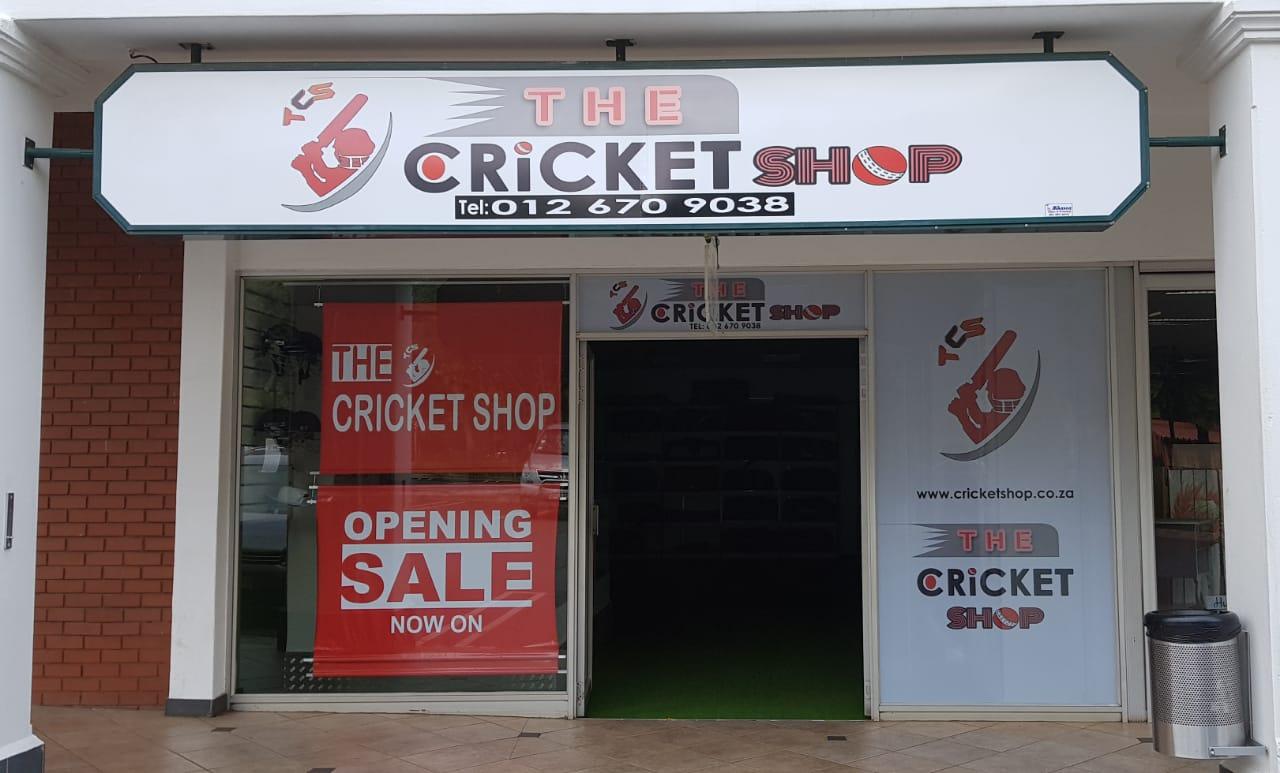 The Cricket Shop - Doringkloof Mall - Centurion
